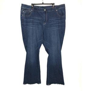 Lane Bryant genius fit bootleg jeans